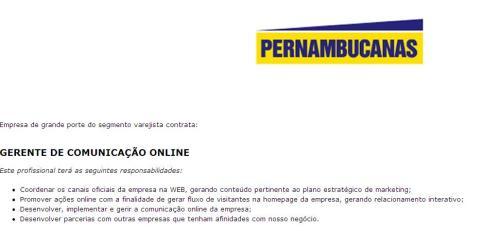 vaga_pernambucanas